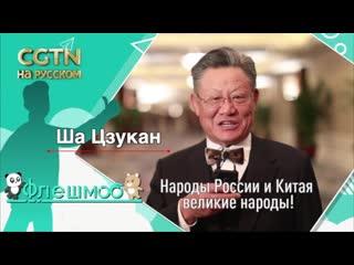 Лайк дружбе Китая и России: Ша Цзукан