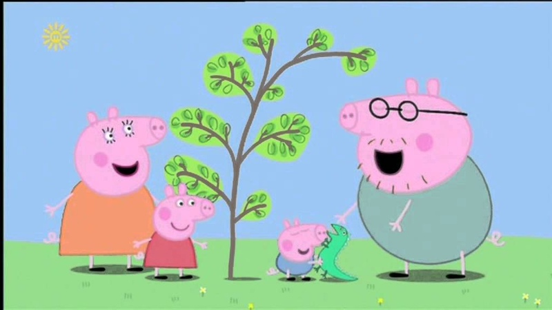 Peppa Pig - English Series 1 (Episodes 1 - 10 with subtitles)