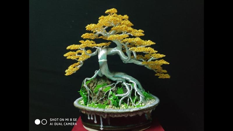 Hướng dẫn làm cây bonsai bằng dây đồng từ a đến z. Bonsai handmade