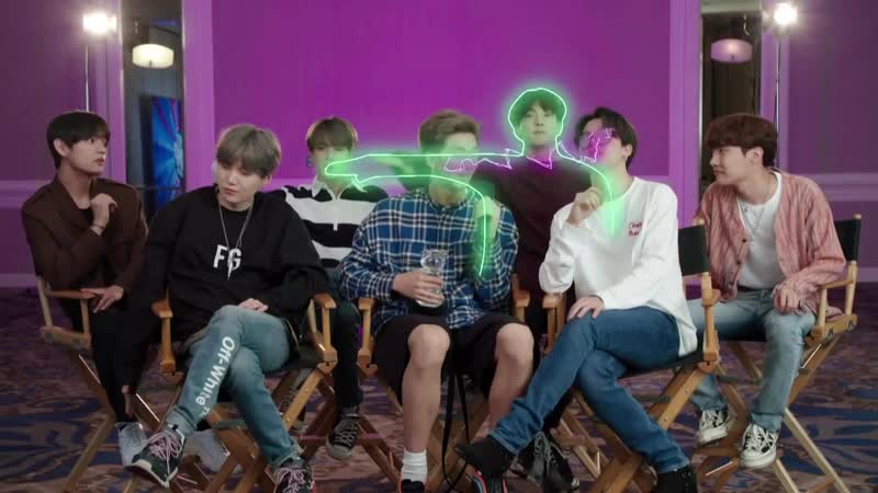 BTS accepts the Global Phenom Award ¦ ARDYs A Radio Disney Music Celebration