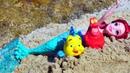 Кукла Русалочка Ариэль и Маша Капуки. Распаковка для девочек - Видео с игрушками из мультфильмов