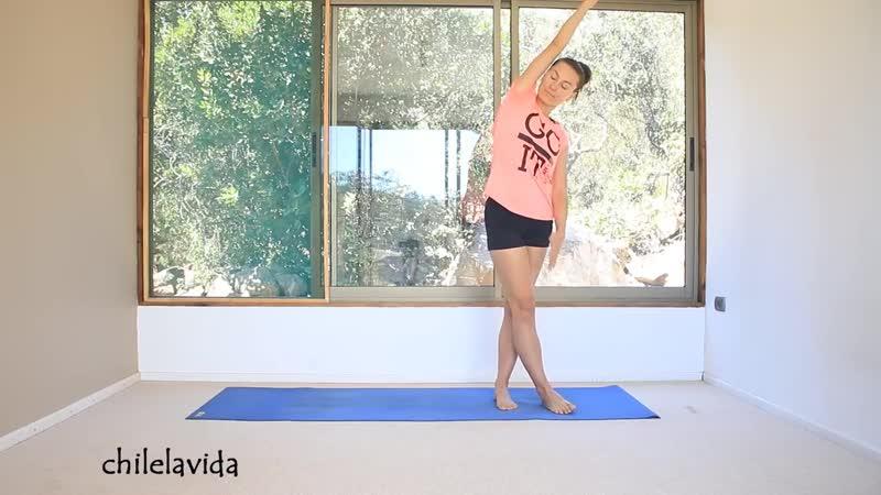 SLs Йога для женщин во время менструации 2 40 мин chilelavida