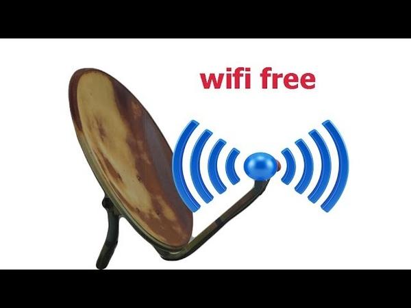 Hút sóng wifi sử dụng internet miễn phí bằng chảo vệ tinh chế tạo hay