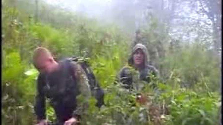 Разведка в горах Чеченской республики. 3 группа 2ОБрСпН.