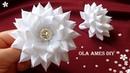 Цветы из лент/ Канзаши/ Amazing Ribbon Flower/ DIY Kanzashi/ Flores de Fita/ Ola ameS DIY