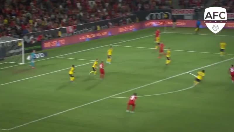 Joe Willock vs Bayern Pre-season