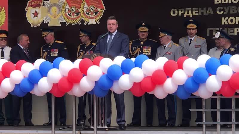 Выпуск училища ВДВ Рязань 2019