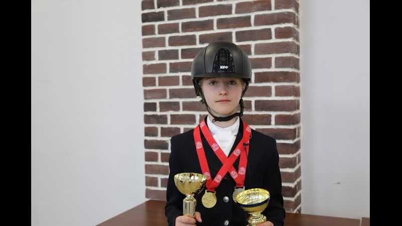 Екатерина Брыкова - победитель в программе Личный Приз. Дети