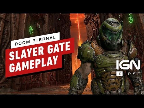 DOOM Eternal 3 Minutes of Slayer Gate Gameplay 4k 60FPS