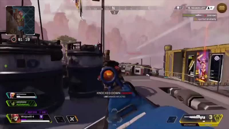 I cant believe I just hit 8 Kraber shots in a row. Im gonna miss this mode.