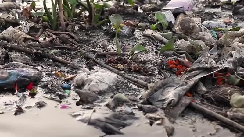 Ямуна - самая грязная река Индии