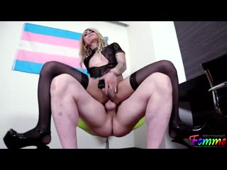 Audrey Maffia - Never Ignored Always Adored [Tattooed Shemale]