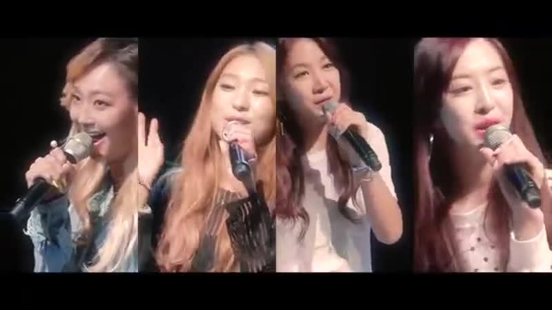 SISTAR(씨스타) - Touch my body(터치마이바디) Acoustic Ver