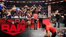 Raw SmackDown and NXT Superstars clash in all out brawl Raw Nov 18 2019