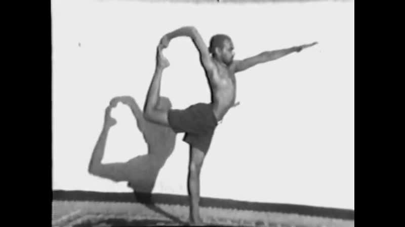 Шри Кришнамачарья Учитель Б К С Айенгара и Паттабхи Джойса Индия раритет1938