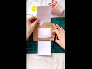 Детские поделки - Фотокамера с кадрами-рисунками