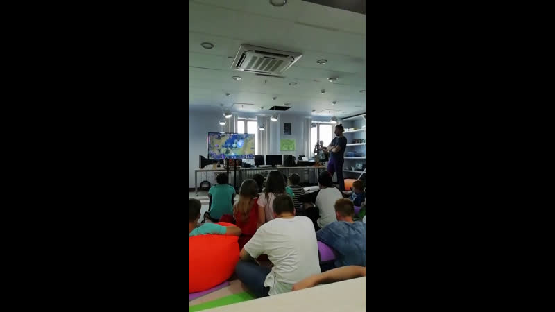 «Мама, я киберспортсмен». Трансляция лекции прямиком из Кампуса. Лектор — Александр Павлов.