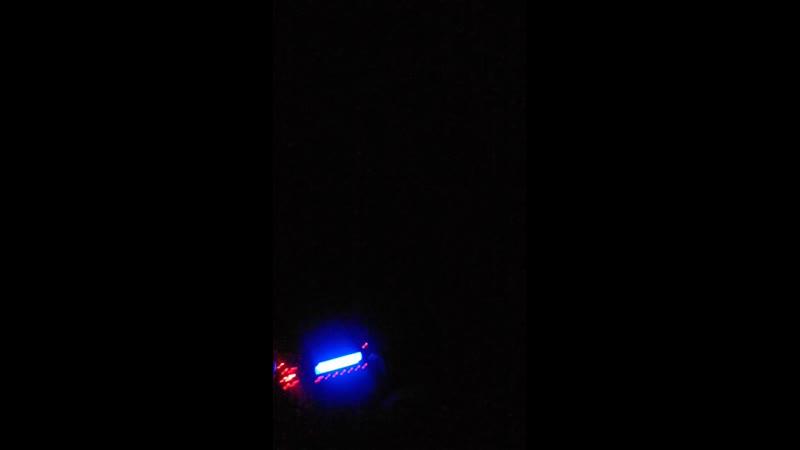Катаем на машине ночью в деревне