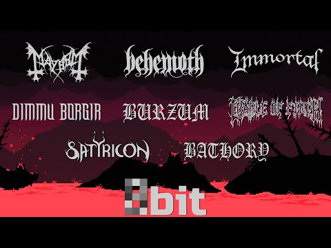 Black Metal bands in 8-bit (NESFamicom)
