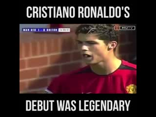 OnThisDay in 2003, Cristiano Ronaldo made his debut for Manchester United. The rest is history. mufc