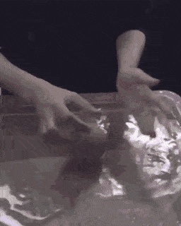 Using Just A Tennis Ball And Some Water To Create Some Trippy Shots GIF by tothe...   Gfycat