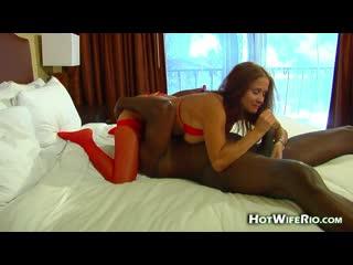 Hot Wife Rio - BIG BLACK KNIGHT