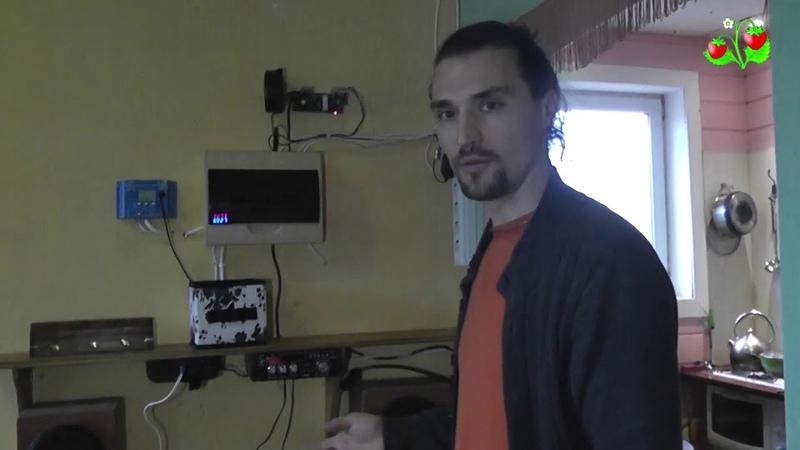Автономное солнечное электричество в Земляничных Полянах