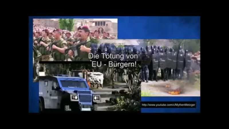 Vereinigte Scharfschützen Bewegung 09 02 20 EUROGENDFOR Europas Söldner Armee jetzt in Frankreich