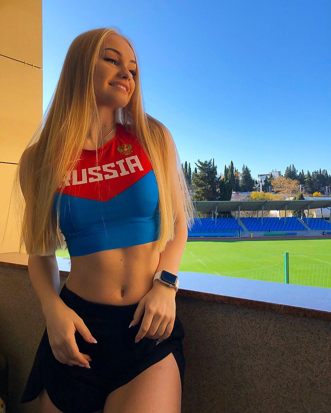 19-летняя каратистка Дарья Тулякова, которая входит в основной состав сборной России  Наши спортсменки самые красивые