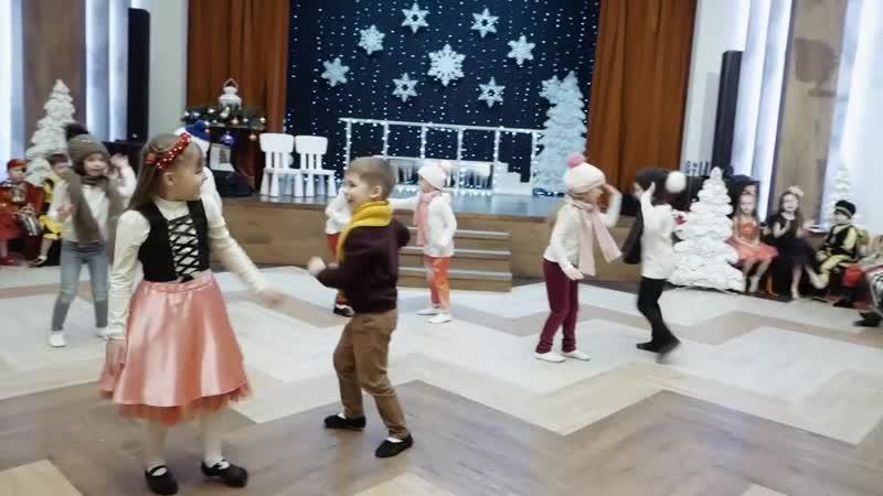 Сказка-мюзикл Снежная Королева. Подготовительные группы Лучики и Капелька