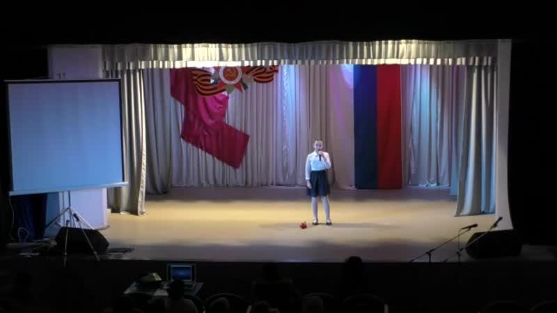 Девятое Мая Ксения Иванова 9 12 лет с Масловское Поддорский р н