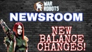 War Robots - Newsroom - New Pilot / Rebalance $100 NHC!