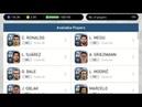 Spanish League vol.1 199 stars box draw PES Mobile - use 2500 gold
