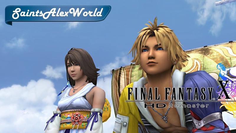 Final Fantasy X HD Remaster [PC] Прохождение на русском 2 - Килика. Босс Син