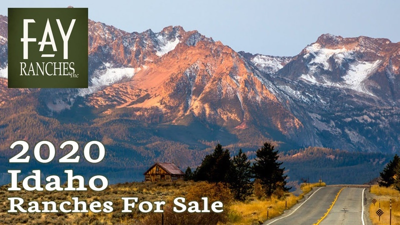 Idaho Ranches For Sale 2020 Land Properties Acreage Custom Homes Cattle Hunting Fay Ranches