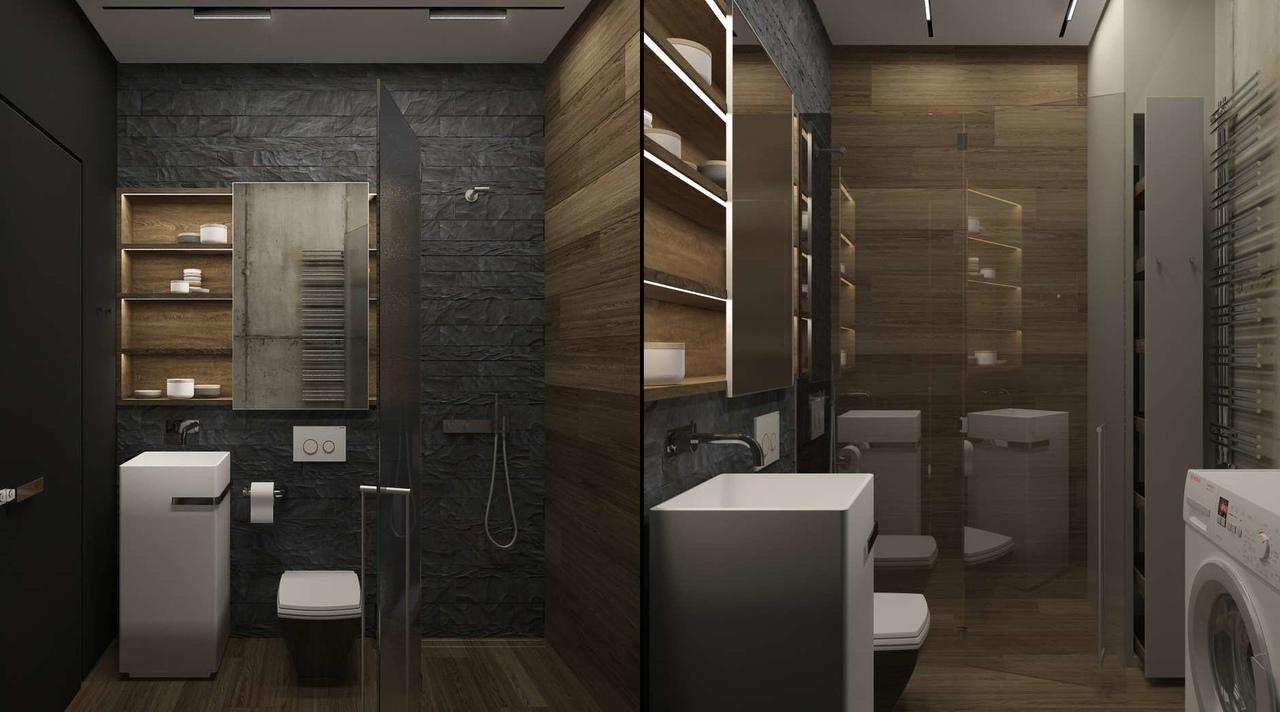 Как на 30 квадратах разместить и диван, и кровать: проект в Москве