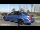 522HP Mercedes C63 AMG W204 w Decatted Exhaust! Loud Sounds!