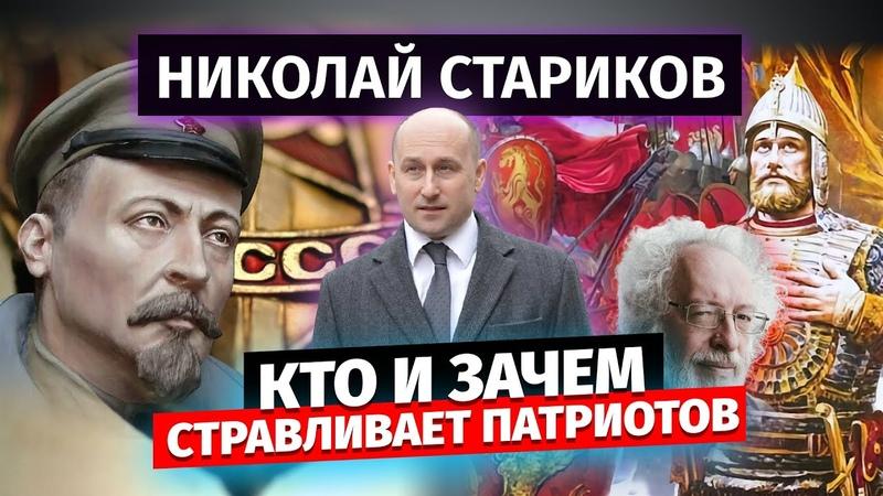 Николай Стариков Дзержинский иили Невский – кто и зачем стравливает патриотов