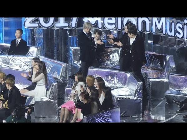 171202 트와이스(TWICE),엑소(EXO),위너 - 케이팝메들리 ,댄스남자,여자 그룹상 수상소감 리