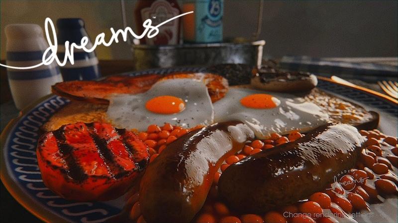 Dreams Full Beech breakfast PlayStation 4
