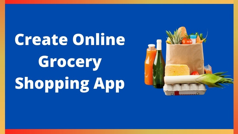 How to create online grocery delivery app in MIT App Inventor 2 2020 Updated