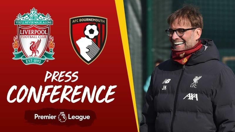 Jürgen Klopp's pre match press conference Bournemouth