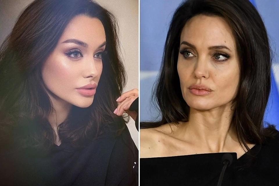 Девушка с Кавказа, которая так похожа на Джоли