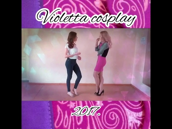 Violetta Виолетта juntos somos mas Cosplay video 2017