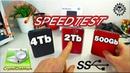 WD My Passport Elements Внешний жесткий диск USB3 4tb -ТЕСТ