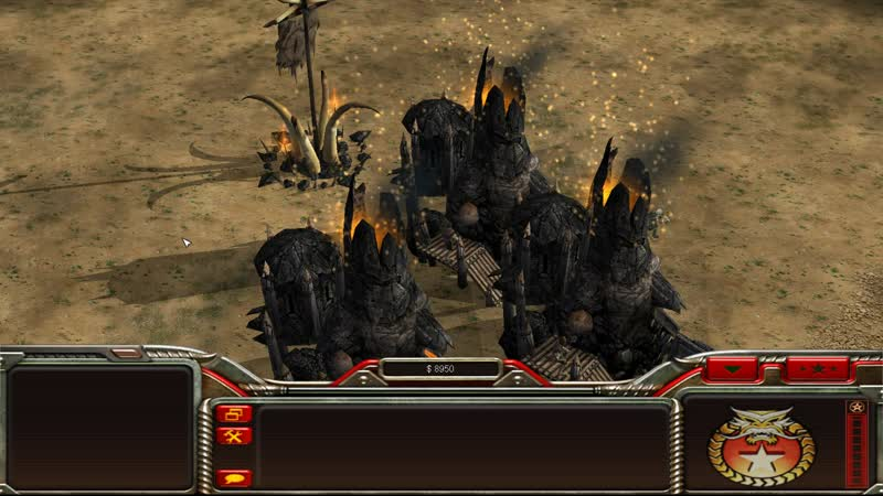 Command and Conquer Generals - The Battle For Middle Earth - Furnace Particles - W.I.P.