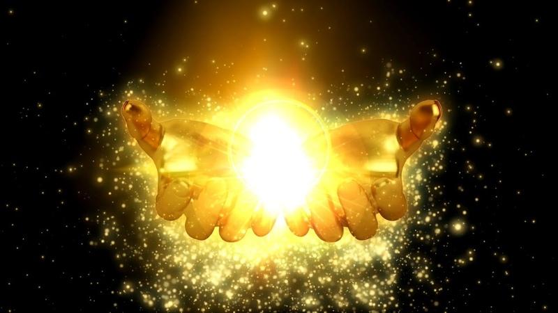 888 Гц Золотые руки изобилия Бесконечная любовь и благодарность Божественный дар Вселенной