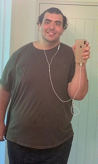 Студент, который весил 190 кг, похудел и стал настоящим красавчиком