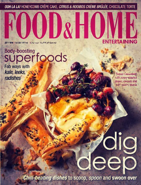 Food Home Entertaining July 2016