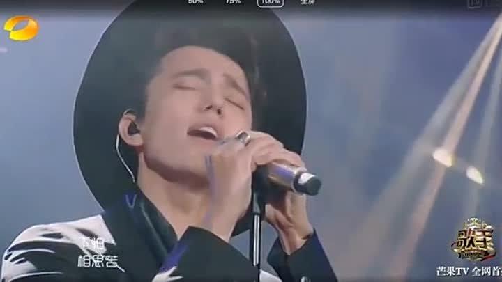 Димаш Кудайбергенов - 4 тур i am a singer 2017 Китай. Осенняя печаль на китайском языке.